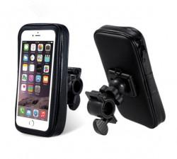 Suport telefon ghidon bicicleta (rezistent la apa)