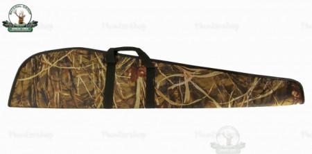 Husa arma textil camuflaj cu buzunar