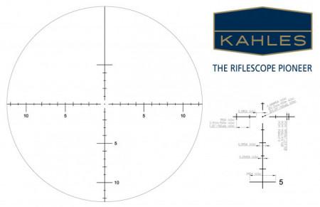 Luneta K-SERIES K1050 10-50x56, reticul MOAK , Cod 10598