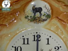 Ceas de perete ceramic pictat -Wall-clock I - 26cm