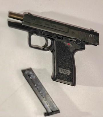 SecondH. Pistol Röhm P.A.K 9 mm PA