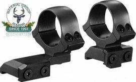 Suport luneta CZ 550 Fix Deplasat  Din doua bucati de 26 mm sau 30 mm