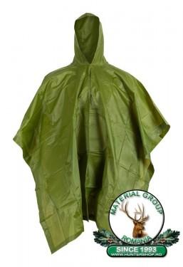 Pelerina vanator de ploaie verde Poncho