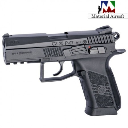 Pistol Airsoft CZ 75 P-07 Duty Blowback CO2 ASG 16720