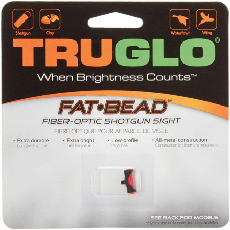 Dispozitiv de ochire Truglo Fat Bead 2.6mm Red TG948CR