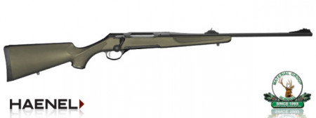 Haenel Jaeger 10 Synthetic Green - cal.: .300 WinMag.