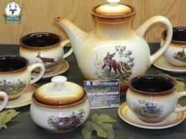 set cafea / ceai de 6 persoane ceramic