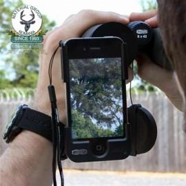 Adapter MeoPix 49mm for Meostar S2 pentru iPhone 4 / 4s