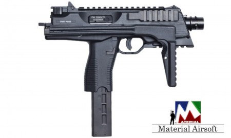 Replica Airsoft MP9 A3 GBB Negru 16802 ASG metal