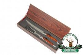 Trusa ptr Gril in cutie de lemn kép