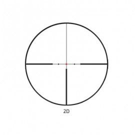 Delta TITANIUM 1,5-9x45 IR cu reticul 2D cu punct luminos si tub de 30mm