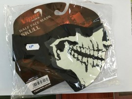 Masca de protectie din neopren half face skull vmasckh-skul