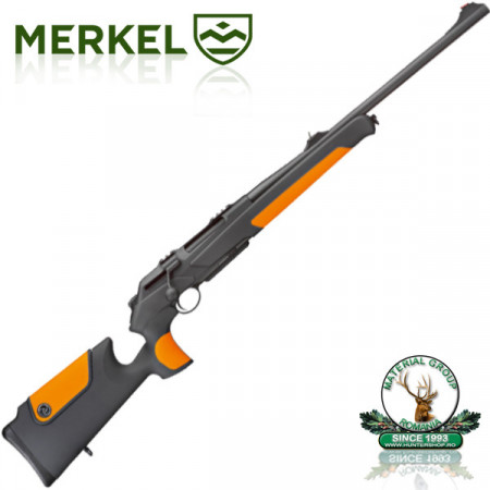 Merkel RX Helix Speedster OR limited edition - 300 WinMag. Black-Orange