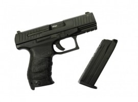 Pistol Airsoft WALTHER PPQ M2 - METAL SLIDE - GBB - BLACK