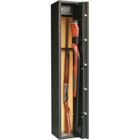 Rastel Sentinel SD5 pentru 4+1 arme, cu vizor + cutie interioara