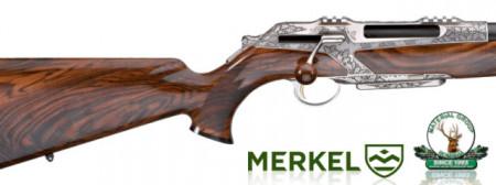 Merkel RX Helix Deluxe - 9,3x62 {gravura handmade, woodclass 8}