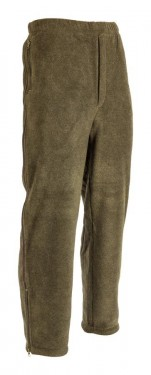 Poze Pantalon vanator supersoft fleece verzui maroniu
