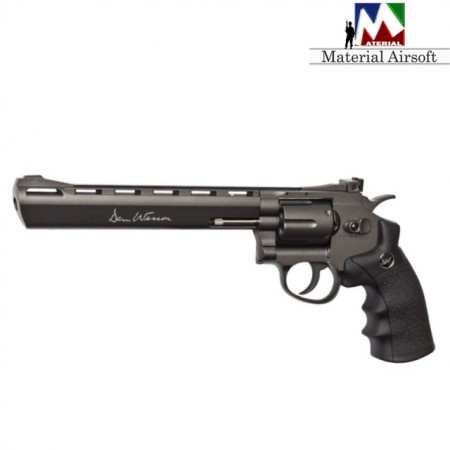"Revolver Airsoft Dan Wesson 8"" full metal 16182 ASG"
