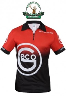 Tricou geco functional red