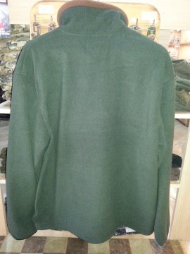 Pulover vanator Fleece verde-maroniu Hunter