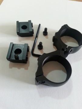 Suport  Luneta  Tikka T3 de 30 mm sau 26mm FIX din doua bucati