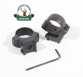 Suport luneta Zkm-611 de 26mm sau 30mm din doua bucati -Blister