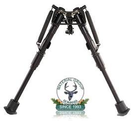 Bipod arma Harris telescopic mare