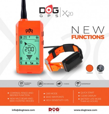 Poze Dog GPS, tracking and training system X20 - DOGtrace