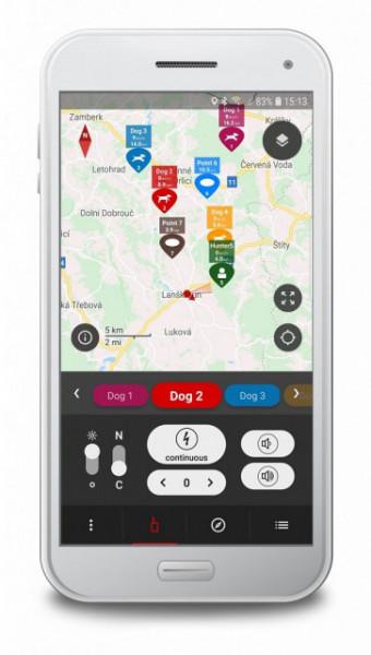 DogTrace X30T - Dispozitiv GPS pentru urmărirea câinilor