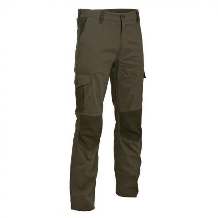 Poze Pantalon vanator Verde-Maroniu M-Tramp Rindal cu multe buzunare