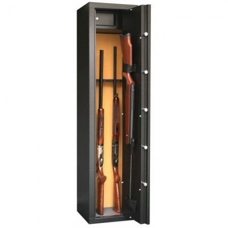 Rastel Sentinel SD7 pentru 6+1 arme , cu vizor + cutie interioara