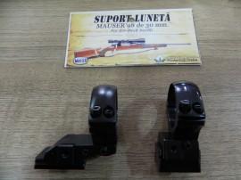 Suport luneta Mauser '98 de 30mm fix din doua bucati