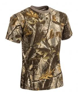 Tricou camuflaj Hardwood - Maroniu