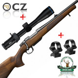 set CZ557 Lux + Meopta Optika 6 2.5-15x44 + suport luneta