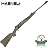 Haenel Jaeger 10 Synthetic Green - cal.: .30-06 Sprg. / 8x57IS / 9,3x62 / 7x64