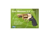 """ASG Revolver Dan Wesson 2.5"""" GOLD"""