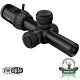 Meopta Optika 6; 1-6x24 RD FFP, reticul: K- Dot, K-Dot 2, 4C, 223, punct luminos