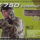Pistol Airsoft CZ 75 D Compact