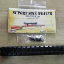 Suport sina weaver Mauser '98 dintr-o bucata