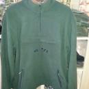 Pulover vanator Fleece verde-maroniu Hunter