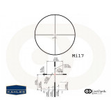 Luneta K-SERIES K312i 3-12x50, reticul Mil7, Cod 10549