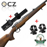 set CZ557 Lux + Meopta Optika 6 1-6x24 + suport luneta