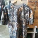 Tricou camuflaj Hardwood - Galbeniu