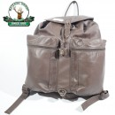 Rucsac vanator din piele maro mare Hunting