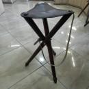 Scaun cu trei picioare din lemn -Mediu 65cm
