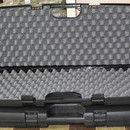 Husa arma plastic tip valiza, Italia