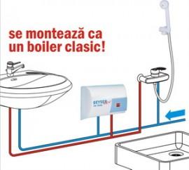 Poze Boiler instantaner GEYSER NEW IN-LINE COMBINAT