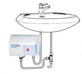 Poze Boiler instantaner GEYSER NEW IN-LINE CHIUVETA