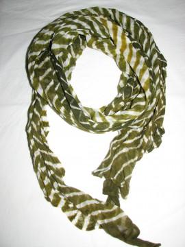 Poze Esarfa bicolora cu dungi