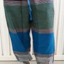 Pantaloni bumbac cu croi lejer